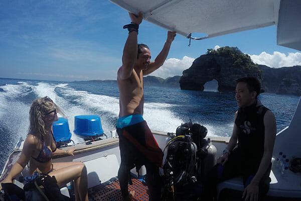 Dive safari Bali