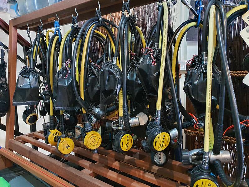 Diving Equipment, Diving Equipment