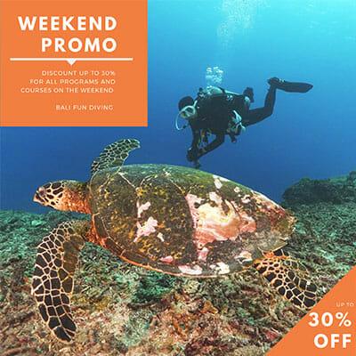 Bali Fun DIving Weekend Promo